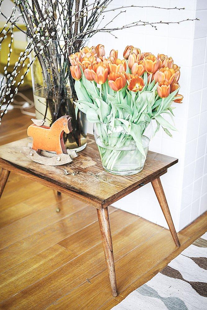 Фотография: Декор в стиле Прованс и Кантри, Скандинавский, Эклектика, Декор интерьера, Квартира, Мебель и свет, Проект недели, советское ретро в интерьере, эклектика в интерьере, скандинавские мотивы в интерьере, студия в скандинавском стиле, как оформить студию – фото на INMYROOM