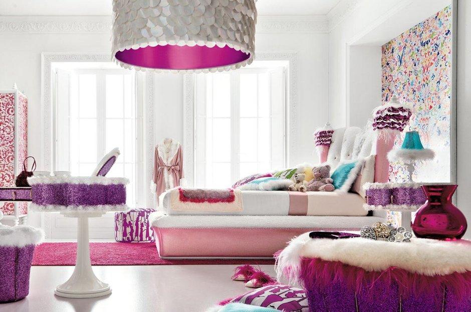 Фотография: Спальня в стиле Современный, Эклектика, Декор интерьера, Квартира, Текстиль – фото на INMYROOM
