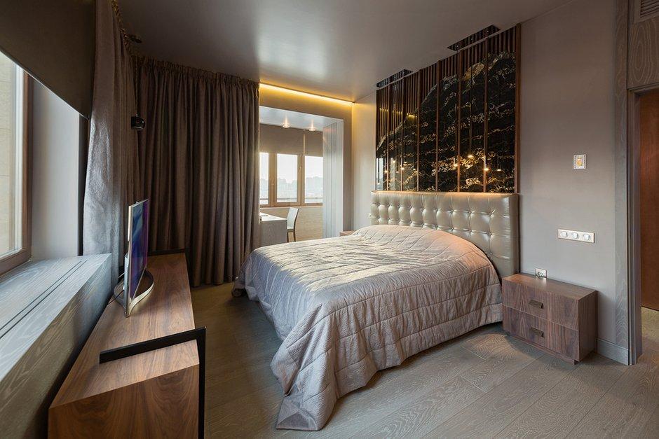 Фотография: Спальня в стиле Лофт, Современный, Квартира, Дома и квартиры, Проект недели, Москва – фото на INMYROOM