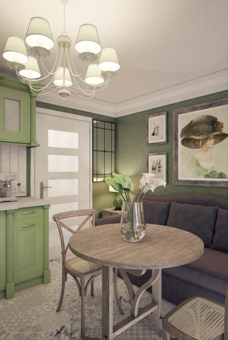 Фотография: Кухня и столовая в стиле , Малогабаритная квартира, Квартира, Дома и квартиры – фото на INMYROOM