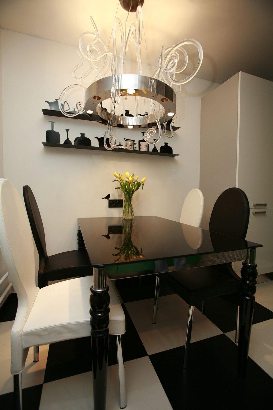 Фотография: Кухня и столовая в стиле Эклектика, Квартира, Дома и квартиры, Перепланировка, Ремонт – фото на INMYROOM