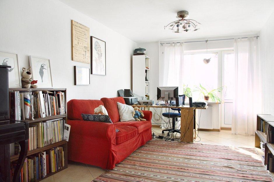 Фотография: Гостиная в стиле Прованс и Кантри, Скандинавский, Эклектика, Квартира, Дома и квартиры, IKEA – фото на INMYROOM