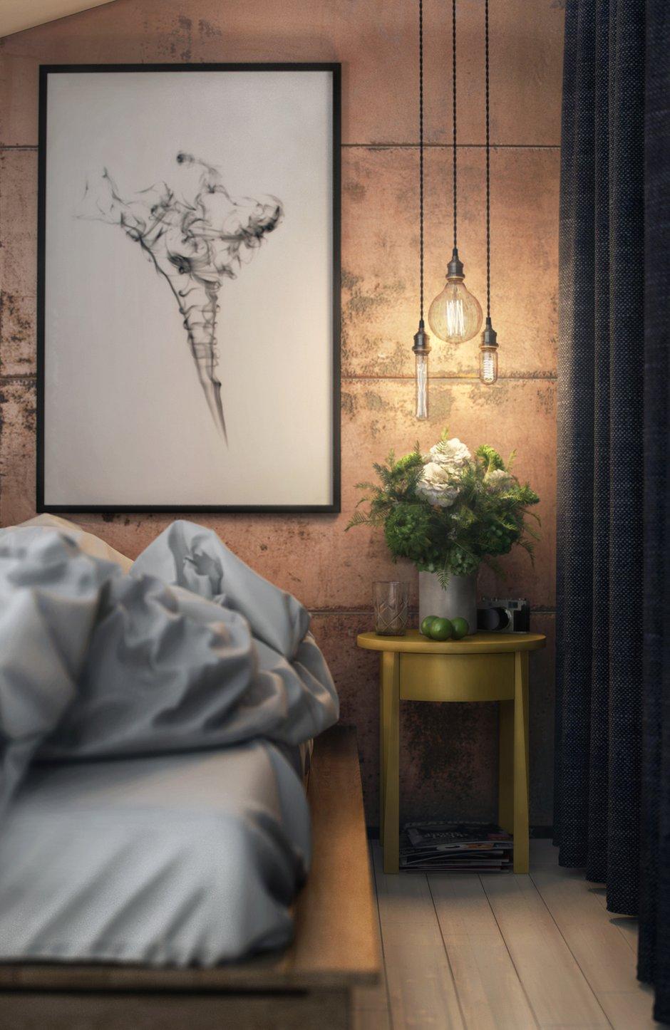 Фотография: Спальня в стиле Лофт, Студия, Планировки, Проект недели, Макс Жуков, Московская область, ToTaste Studio – фото на INMYROOM