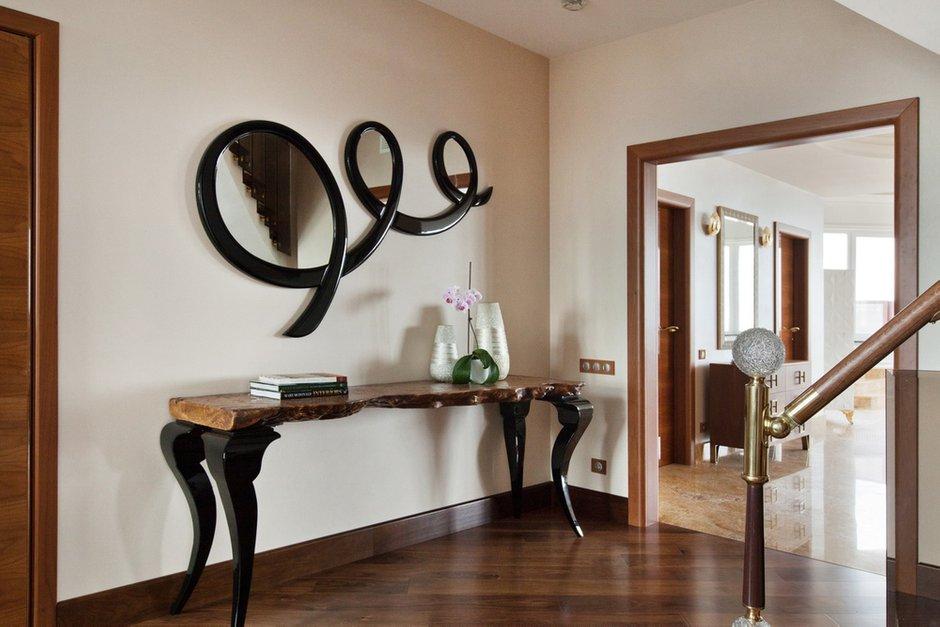 Фотография: Мебель и свет в стиле Эклектика, Квартира, Италия, Дома и квартиры, Пентхаус, Люстра, Ар-деко – фото на INMYROOM
