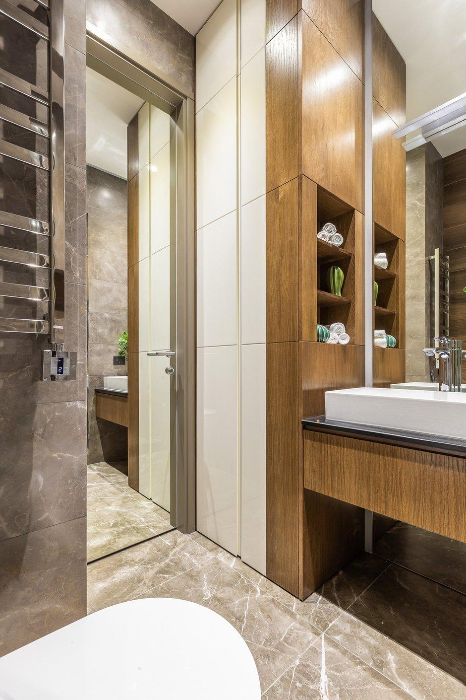 Фотография: Ванная в стиле Современный, Квартира, Проект недели, Москва, 2 комнаты, 40-60 метров, Алина Лютая – фото на INMYROOM