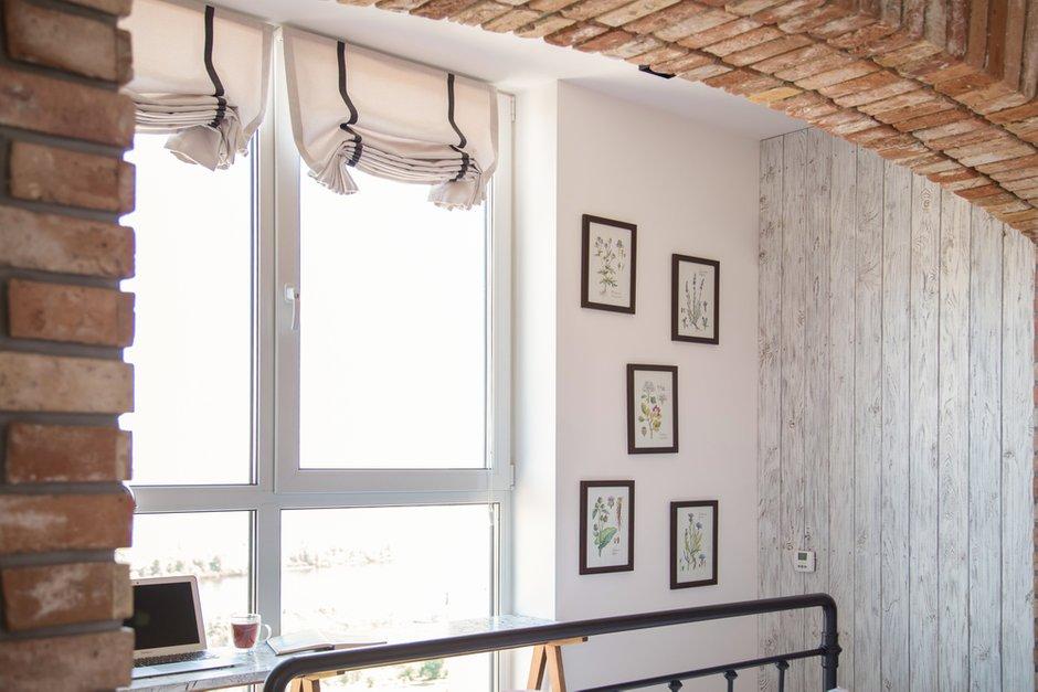 Фотография: Спальня в стиле Лофт, Квартира, Украина, Проект недели, Монолитный дом, 3 комнаты, 60-90 метров, Роман Луценко, Днепр – фото на INMYROOM