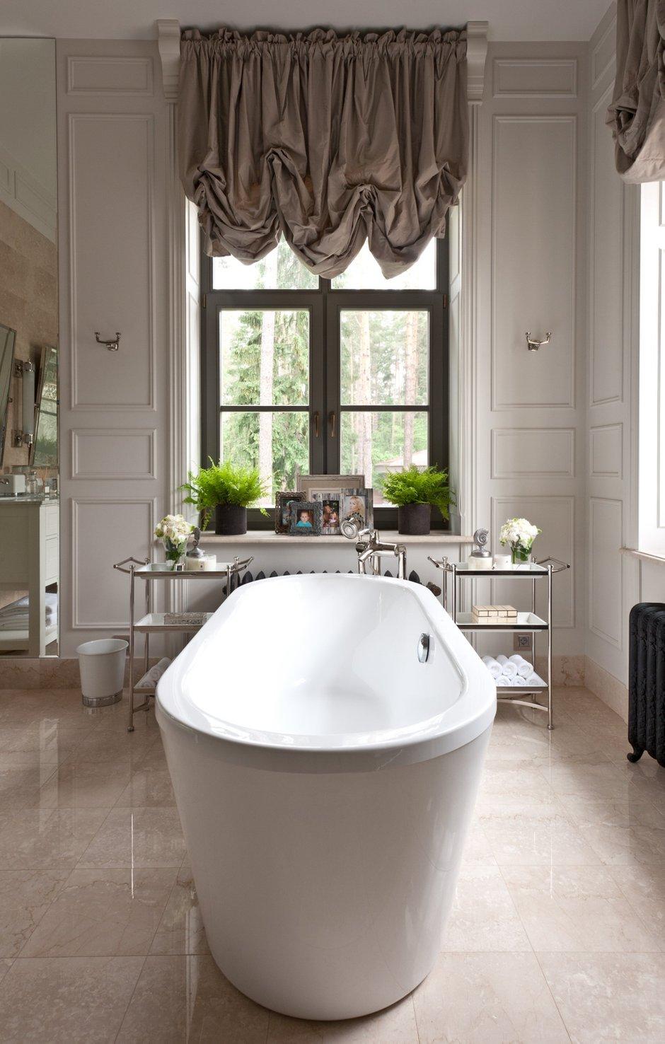 Фотография: Ванная в стиле Современный, Эклектика, Дом, Интерьер комнат, Проект недели – фото на INMYROOM