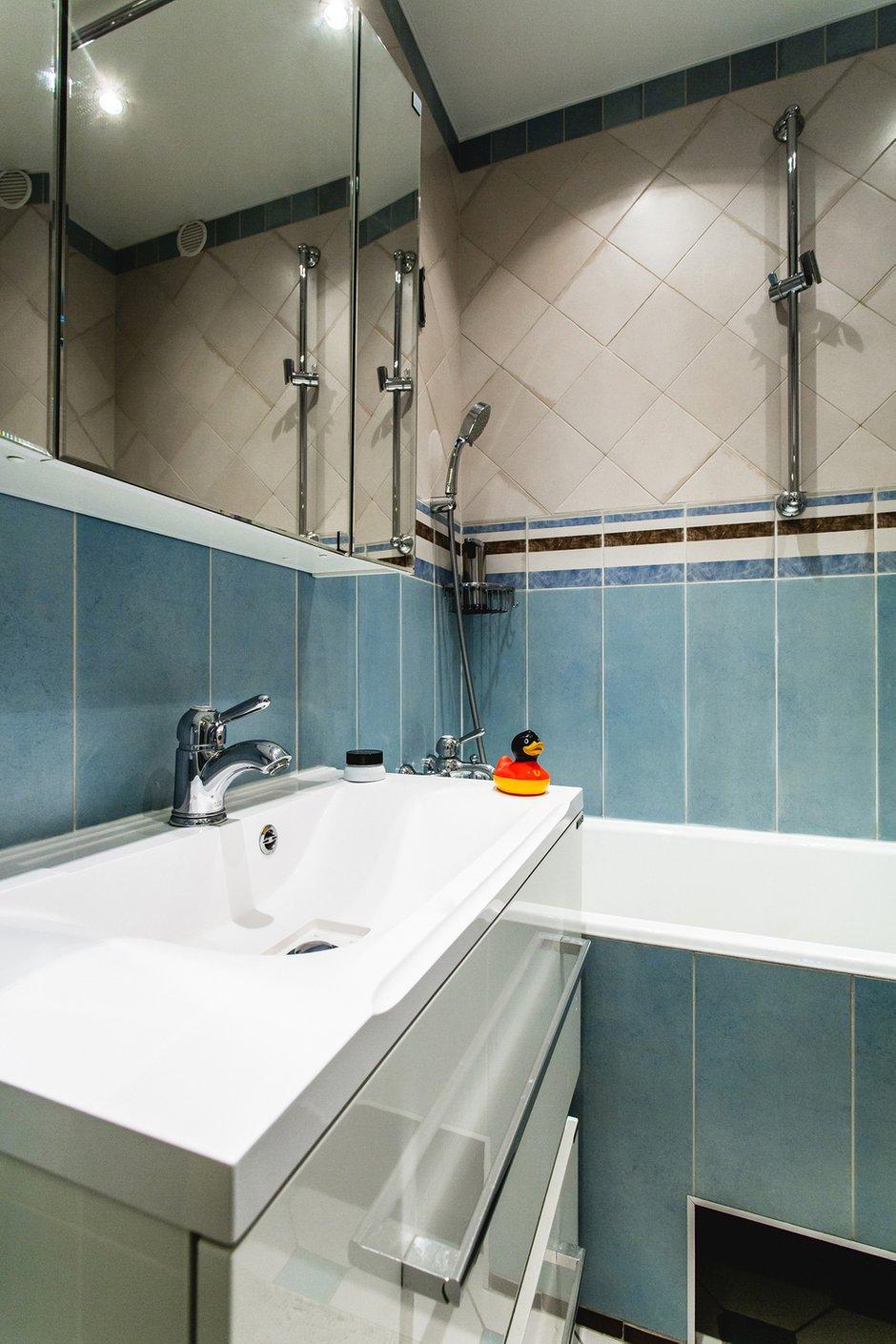 Фотография: Ванная в стиле Современный, Классический, Квартира, Проект недели, Jazzberry – фото на INMYROOM