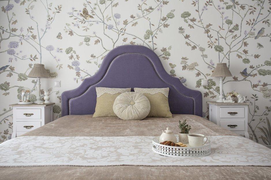 Фотография: Спальня в стиле Классический, Квартира, Проект недели, Москва, Светлана Юркова, Сталинка, 2 комнаты, 40-60 метров – фото на INMYROOM