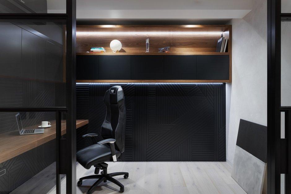 Фотография: Кабинет в стиле Современный, Лофт, Квартира, Проект недели, Москва, GM-Interior, 3 комнаты, Более 90 метров – фото на INMYROOM