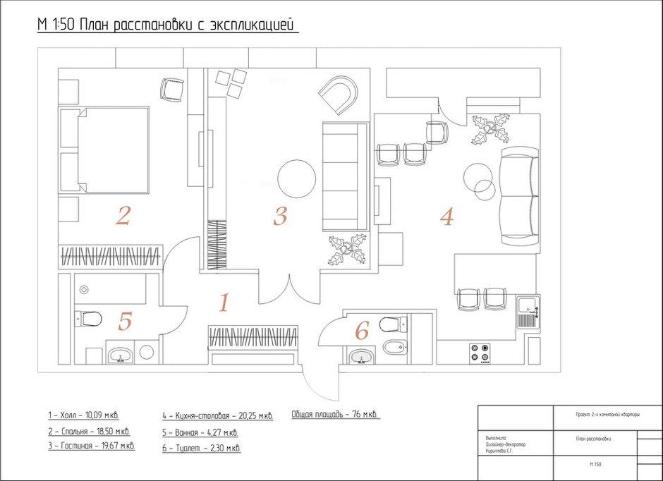 Фотография:  в стиле , Современный, Квартира, Проект недели, 3 комнаты, 60-90 метров – фото на INMYROOM
