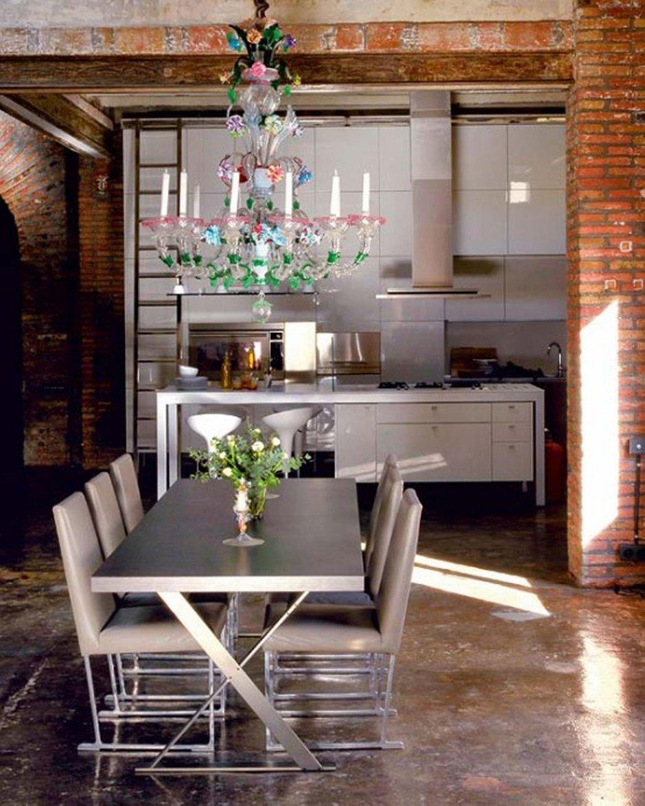 Фотография: Кухня и столовая в стиле Лофт, Декор интерьера, Мебель и свет, Советы – фото на INMYROOM