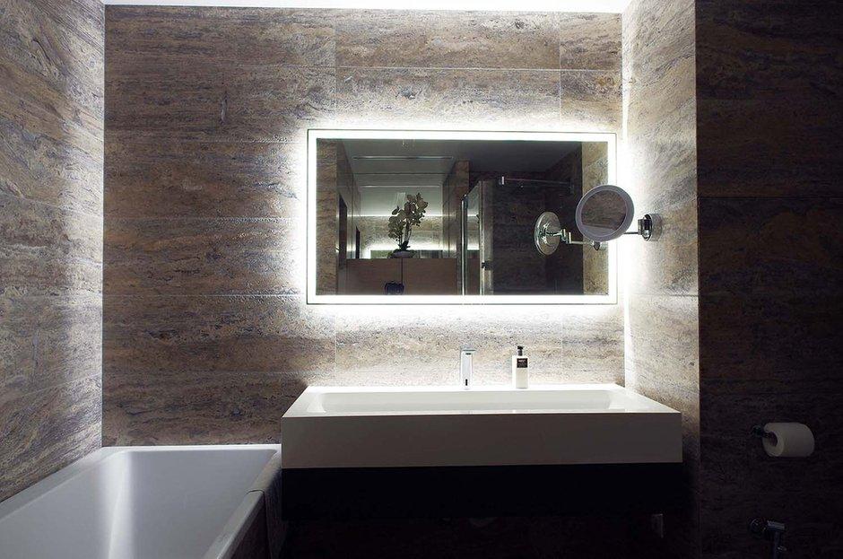 Фотография: Ванная в стиле Лофт, Современный, Квартира, Проект недели, Москва, Панельный дом, Светлана Бородулина, 2 комнаты, 60-90 метров – фото на INMYROOM