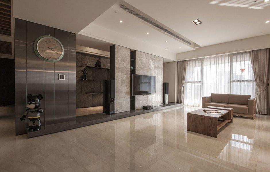Фотография: Гостиная в стиле Современный, Дом, Дома и квартиры, Проект недели – фото на INMYROOM