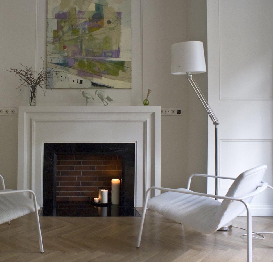 Фотография: Гостиная в стиле Хай-тек, Современный, Квартира, Дома и квартиры, Проект недели – фото на INMYROOM