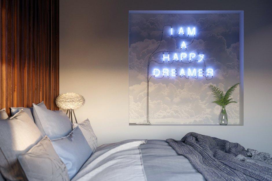 Фотография: Спальня в стиле Современный, Эклектика, Квартира, Испания, Белый, Проект недели, 2 комнаты, 40-60 метров, Бенидорм, Сергей Рынденкин – фото на INMYROOM