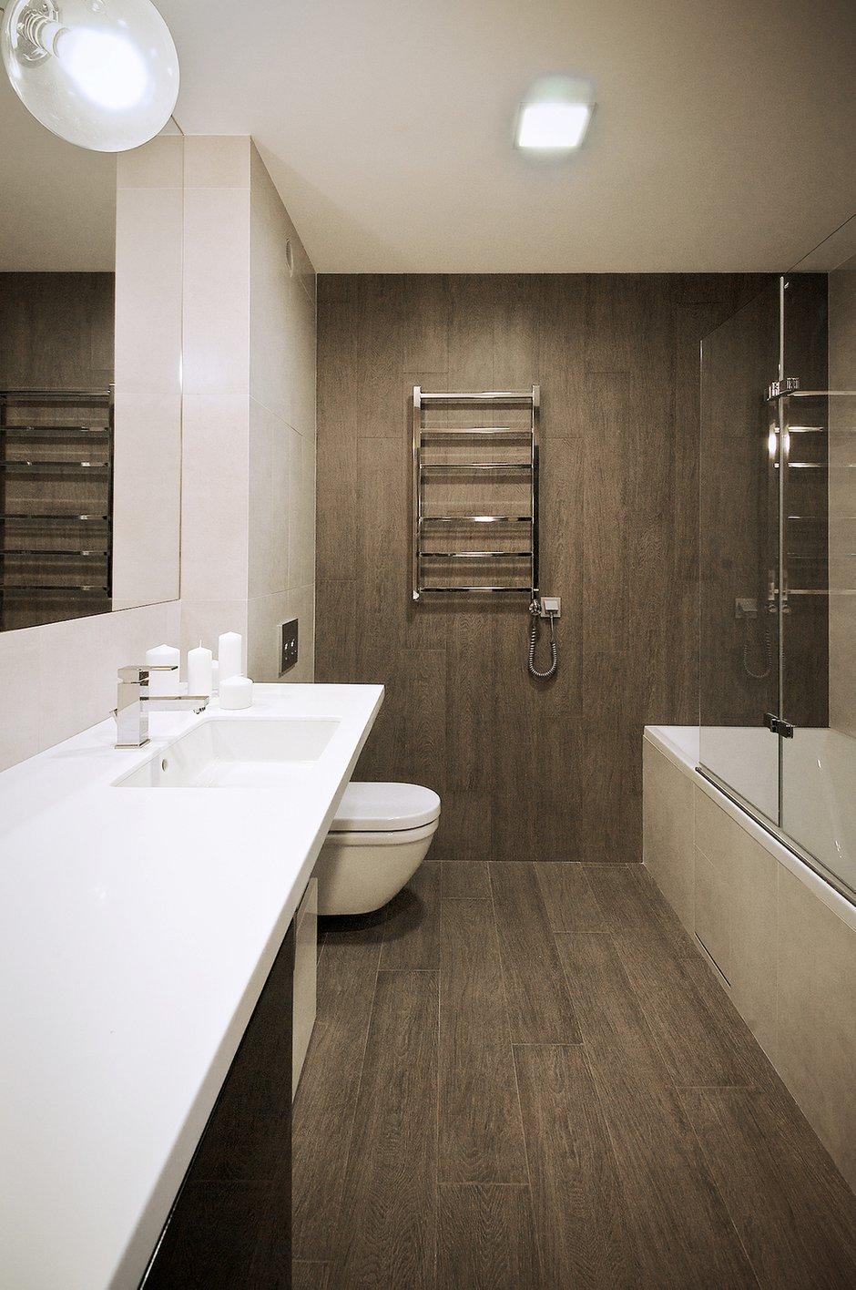 Фотография: Ванная в стиле Лофт, Современный, Квартира, Дома и квартиры, IKEA, Проект недели – фото на INMYROOM