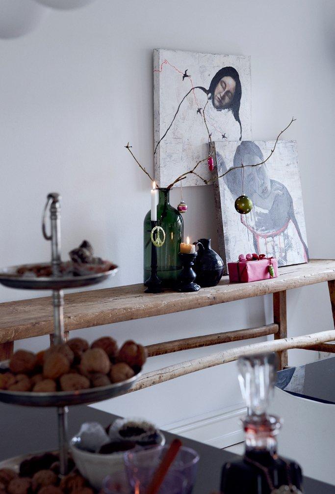 Фотография: Декор в стиле Скандинавский, Декор интерьера, Малогабаритная квартира, Квартира, Праздник, Цвет в интерьере, Дома и квартиры, Белый – фото на INMYROOM