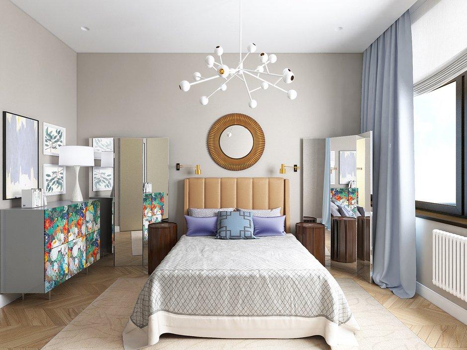 Фотография: Спальня в стиле Эклектика, Дом, Минимализм, Проект недели – фото на INMYROOM