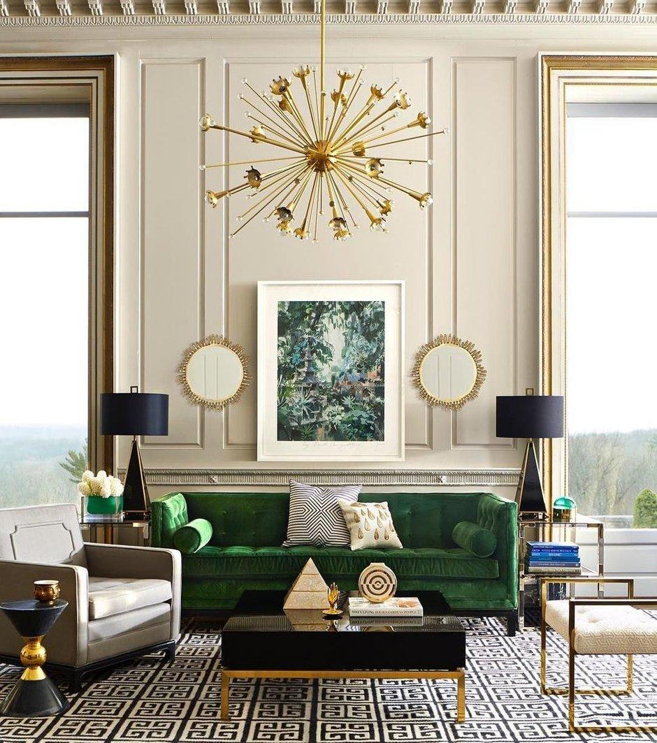 Фотография: Гостиная в стиле Классический, Декор интерьера, Гранд, Анастасия Шарапова, Гранд Юг – фото на INMYROOM