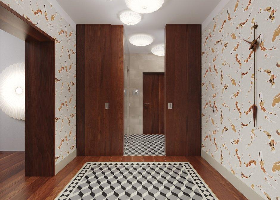 Фотография: Гардеробная в стиле Современный, Квартира, Проект недели – фото на INMYROOM