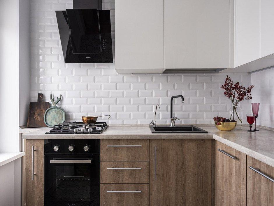 Фотография:  в стиле , Кухня и столовая, Гид, Хрущевка – фото на INMYROOM