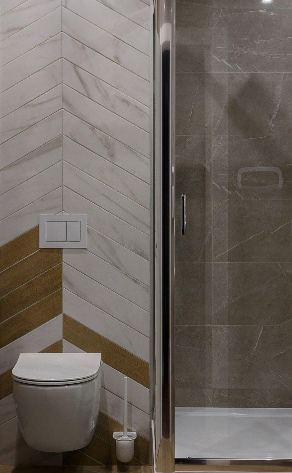 Фотография: Ванная в стиле Современный, Квартира, Проект недели, Пермь, 4 и больше, Более 90 метров, Анастасия Безматерных – фото на INMYROOM