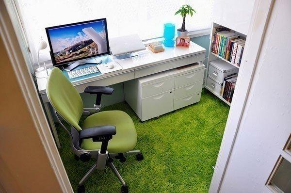 Фотография: Офис в стиле Современный, Декор интерьера, Декор дома, Цвет в интерьере, IKEA, Зеленый, Желтый – фото на InMyRoom.ru