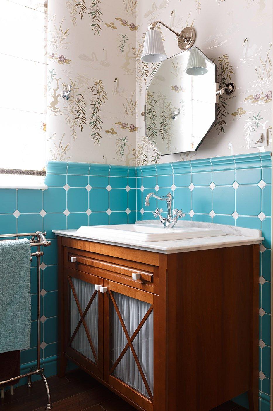 Фотография: Ванная в стиле Классический, Дом, Проект недели, 4 и больше, Более 90 метров, Оксана Бутман – фото на INMYROOM