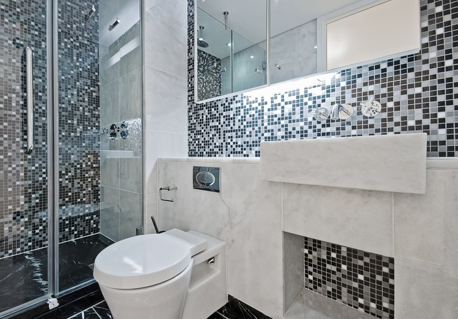 Фотография: Ванная в стиле Современный, Декор интерьера, Квартира, Дом, Дизайн интерьера, Цвет в интерьере – фото на INMYROOM