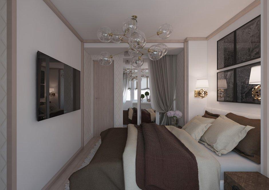 Фотография: Спальня в стиле Современный, Квартира, BoConcept, Дома и квартиры, Проект недели – фото на InMyRoom.ru