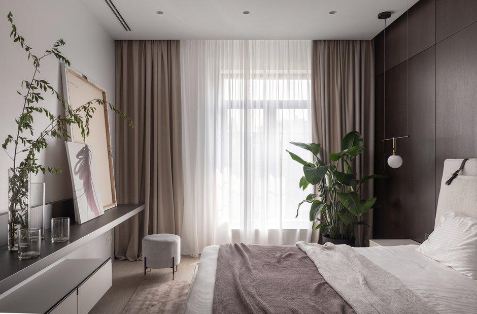 Фотография: Спальня в стиле Современный, Хай-тек, Квартира, Украина, Проект недели, SVOYA STUDIO, 3 комнаты, Более 90 метров, Днепр – фото на INMYROOM