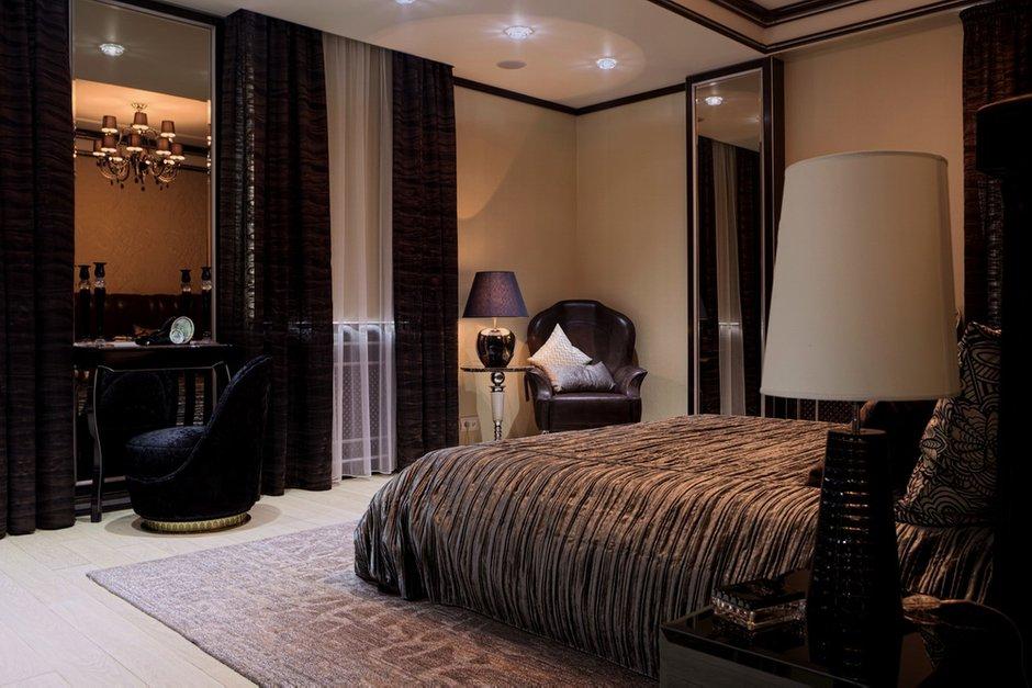 Фотография: Спальня в стиле Восточный, Эклектика, Квартира, Дома и квартиры, Ар-деко, Неоклассика – фото на INMYROOM