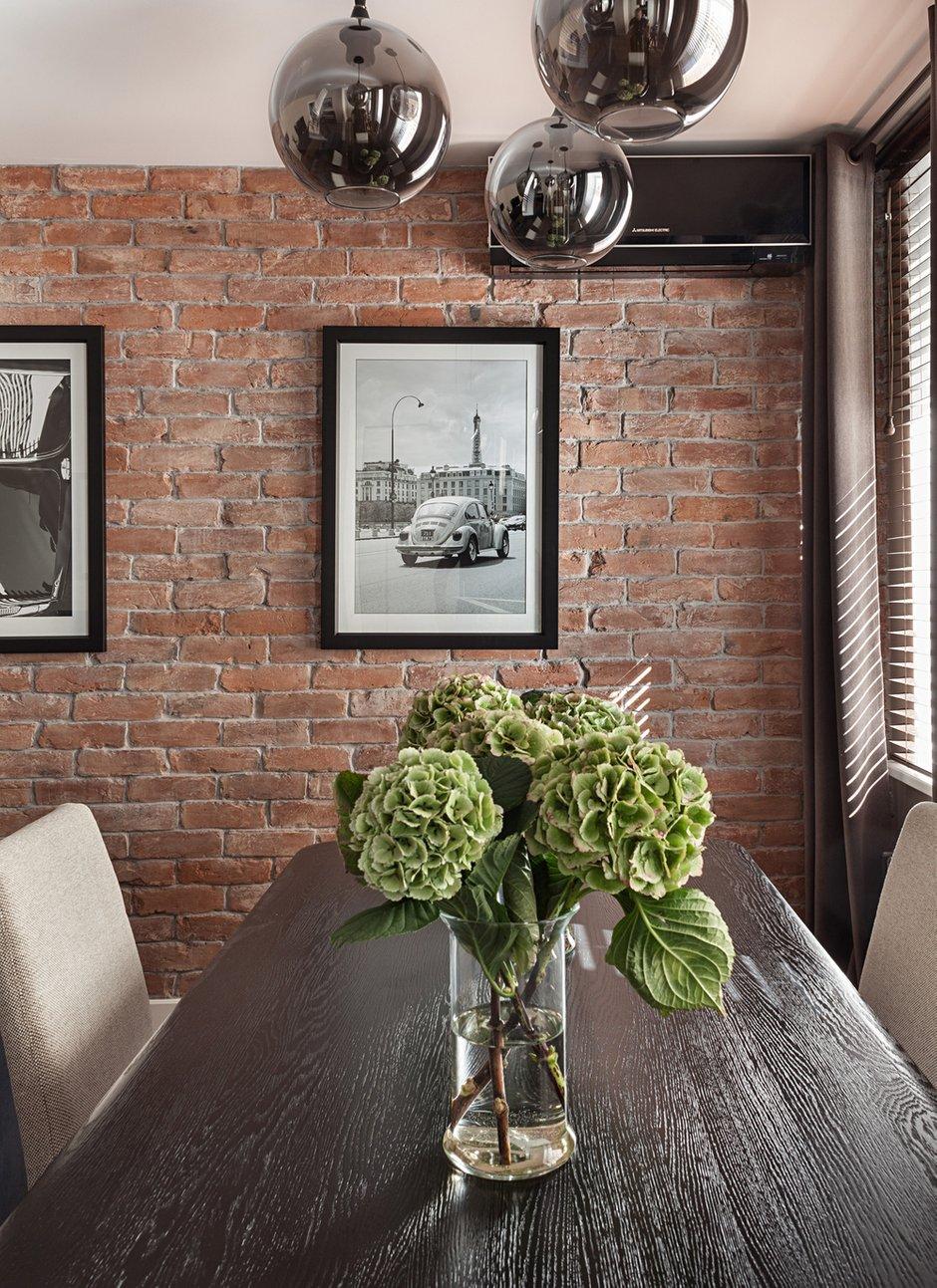 Фотография: Кухня и столовая в стиле Лофт, Современный, Эклектика, Классический, Квартира, Дома и квартиры, IKEA, Проект недели, Дина Салахова – фото на INMYROOM