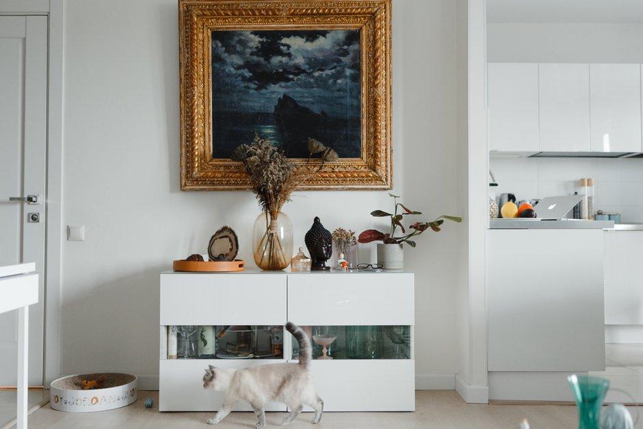 Фотография:  в стиле , Скандинавский, Современный, Декор интерьера, Белый, Dyson, ИКЕА, мебель ИКЕА в интерьере, Анастасия Пальцева, очиститель воздуха – фото на INMYROOM