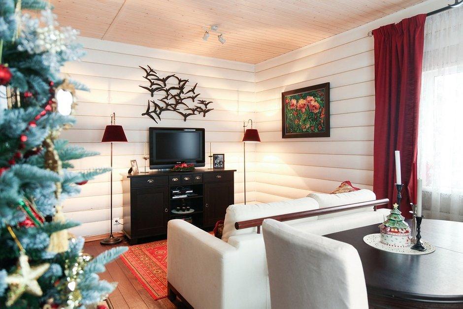Фотография: Гостиная в стиле Прованс и Кантри, Классический, Эклектика, Дом, Проект недели – фото на INMYROOM