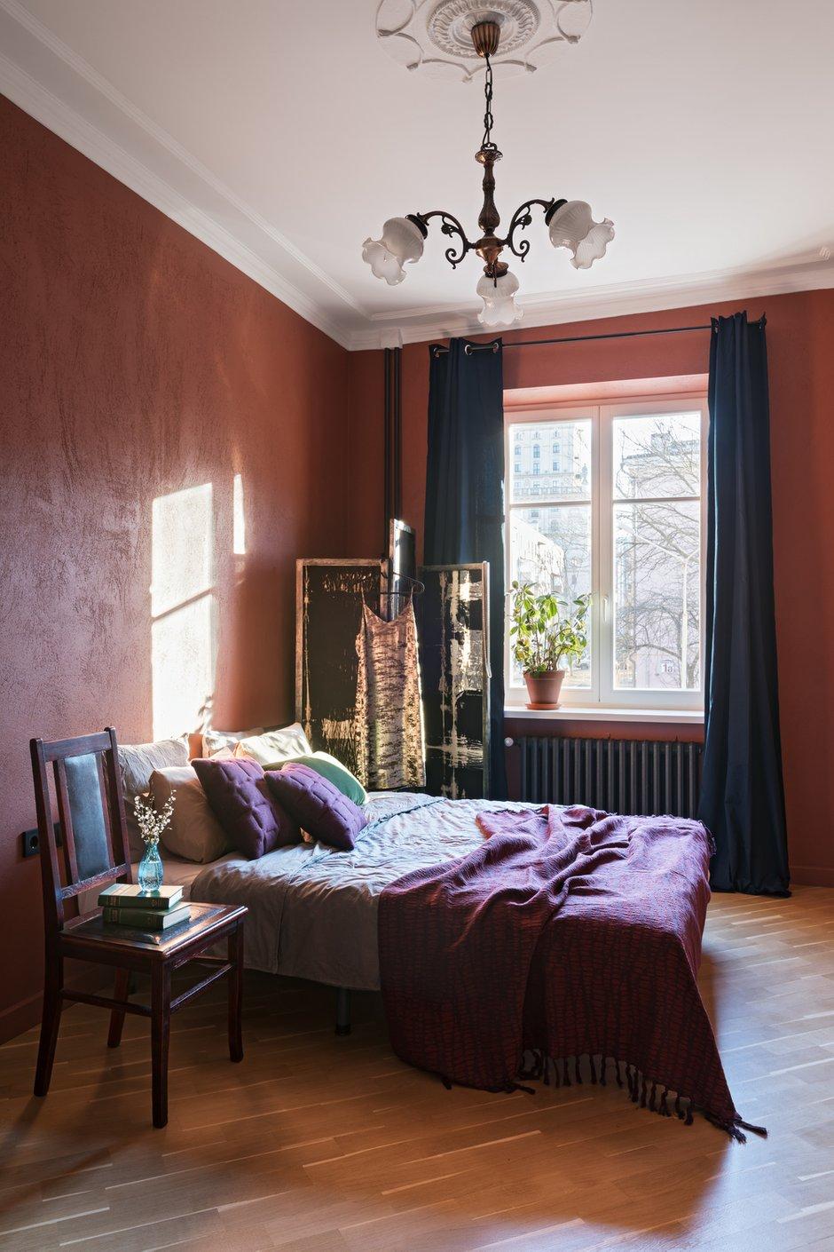 Фотография: Спальня в стиле Эклектика, Квартира, Проект недели, Минск, Сталинка, 2 комнаты, 60-90 метров, Алена Ерашевич – фото на INMYROOM