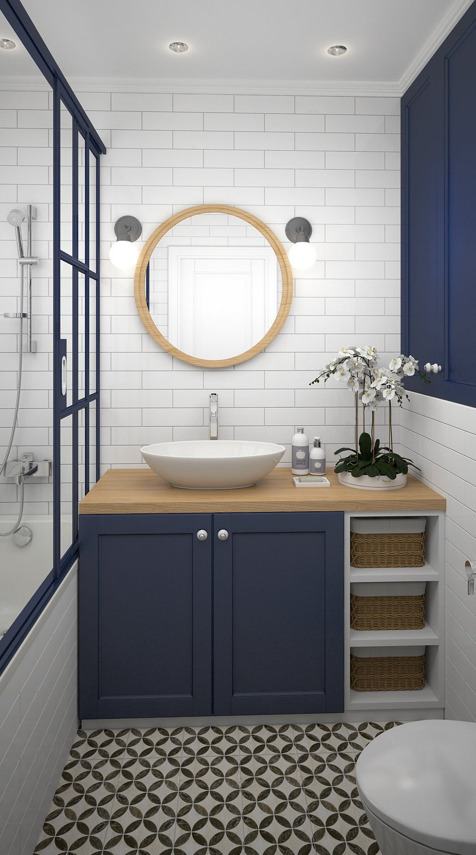 Фотография: Ванная в стиле Современный, Гид – фото на InMyRoom.ru