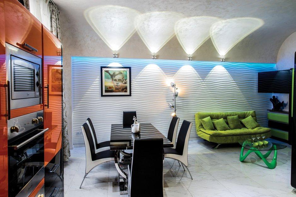 Фотография: Кухня и столовая в стиле Эклектика, Квартира, Дома и квартиры, Интерьеры звезд, Проект недели, Москва – фото на INMYROOM