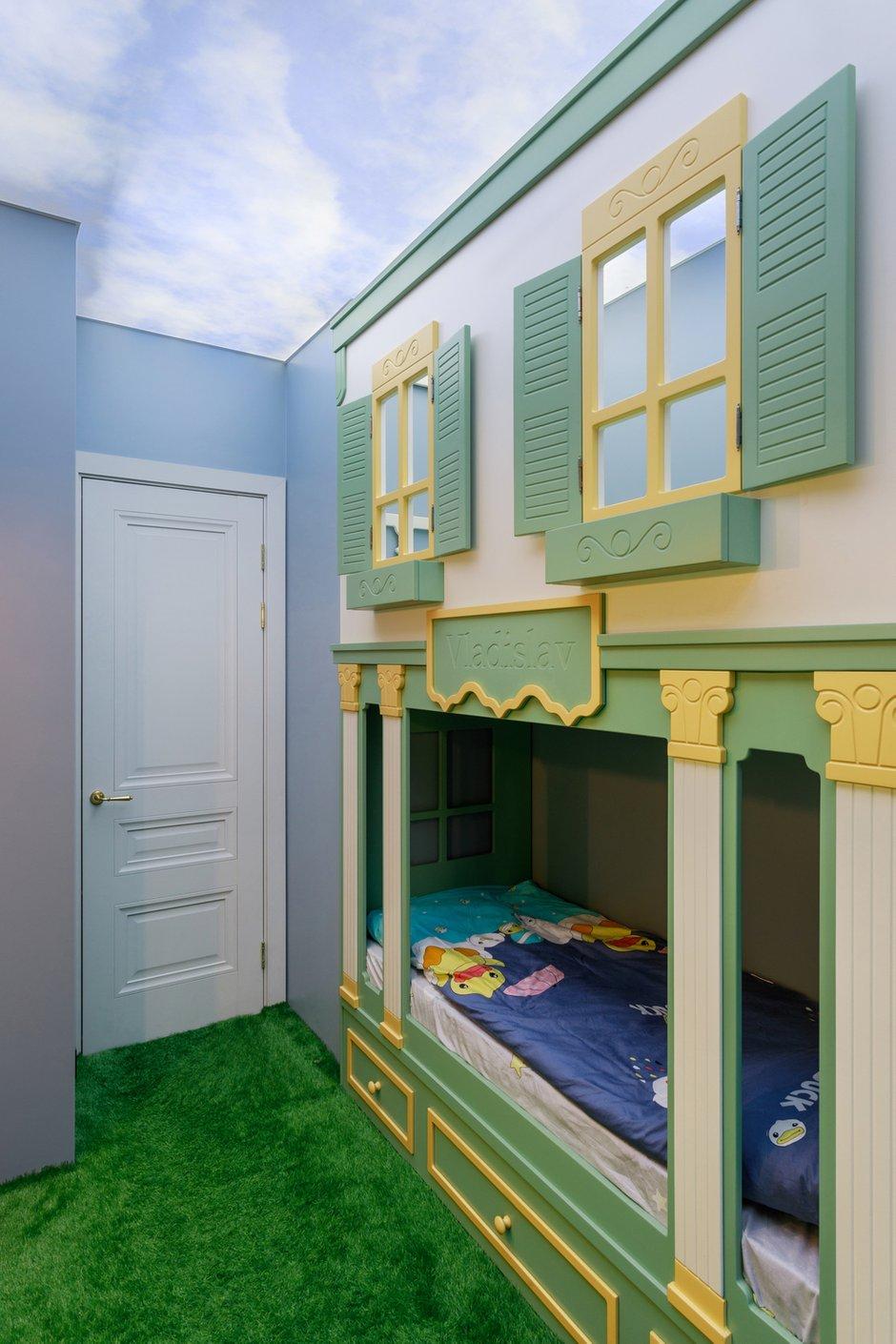 Фотография: Детская в стиле Современный, Квартира, Проект недели, Samsung, 3 комнаты, 40-60 метров, интерьерный телевизор, the serif, Оксана Нечаева – фото на INMYROOM