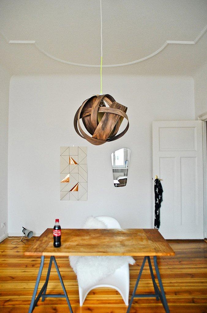 Фотография: Офис в стиле Скандинавский, Декор интерьера, DIY, IKEA, Светильник, Лампа – фото на INMYROOM