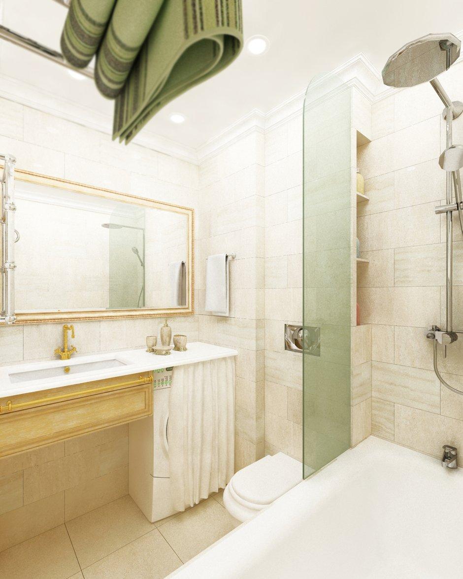 Фотография: Ванная в стиле Прованс и Кантри, Малогабаритная квартира, Квартира, Дома и квартиры, Проект недели, Москва – фото на INMYROOM