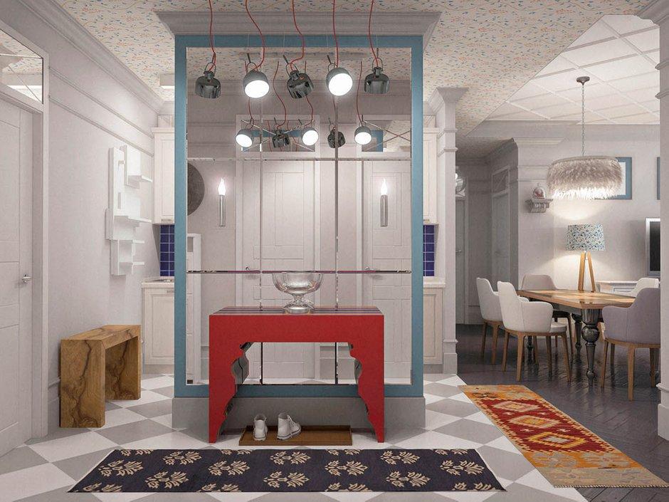Фотография: Прихожая в стиле Скандинавский, Эклектика, Классический, Квартира, Проект недели – фото на INMYROOM