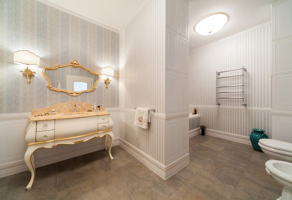 Фотография: Ванная в стиле Классический, Квартира, Дома и квартиры, Проект недели, Москва – фото на INMYROOM