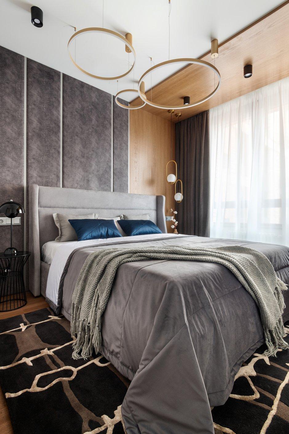 Фотография: Спальня в стиле Современный, Квартира, Проект недели, 2 комнаты, 40-60 метров, Александра Гартке – фото на INMYROOM