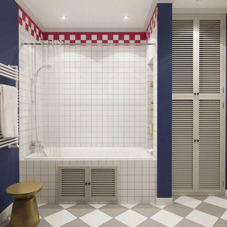 Фотография: Ванная в стиле Скандинавский, Классический, Эклектика, Квартира, Проект недели – фото на INMYROOM