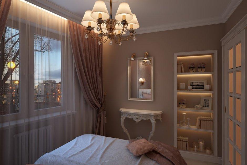 Фотография: Спальня в стиле Классический, Малогабаритная квартира, Дом, Дома и квартиры – фото на INMYROOM