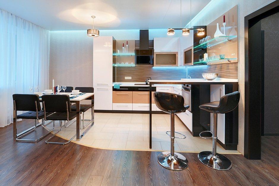 Фотография: Кухня и столовая в стиле Современный, Декор интерьера, Квартира, Дома и квартиры, Минимализм, Проект недели – фото на INMYROOM