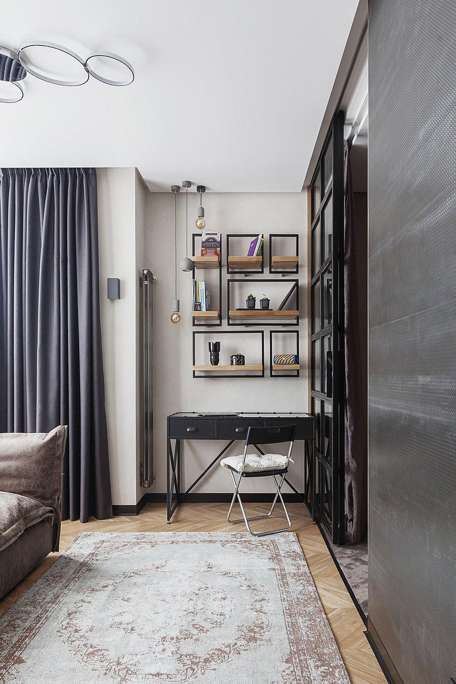 Фотография: Кабинет в стиле Современный, Лофт, Студия, Проект недели, Мария Полянская – фото на INMYROOM