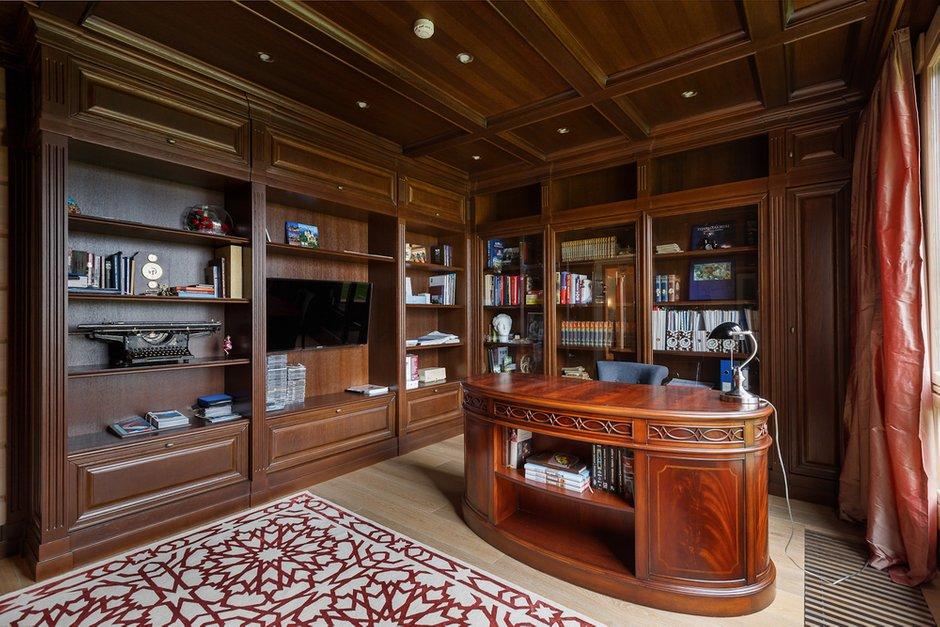 Фотография: Офис в стиле Классический, Дом, Дома и квартиры, IKEA, Проект недели – фото на INMYROOM